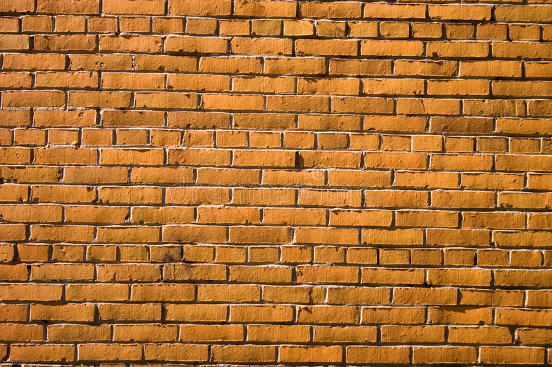 Rough brick wall royalty free stock photo