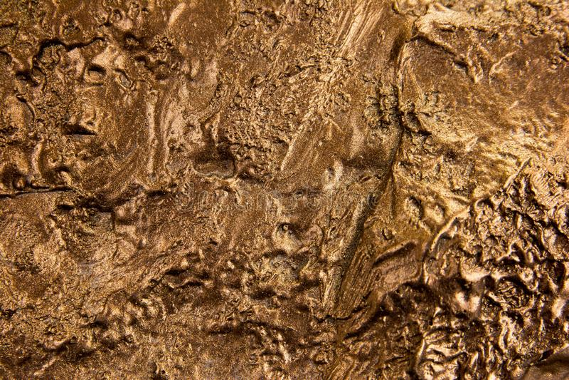 Rough bronze texture background stock image