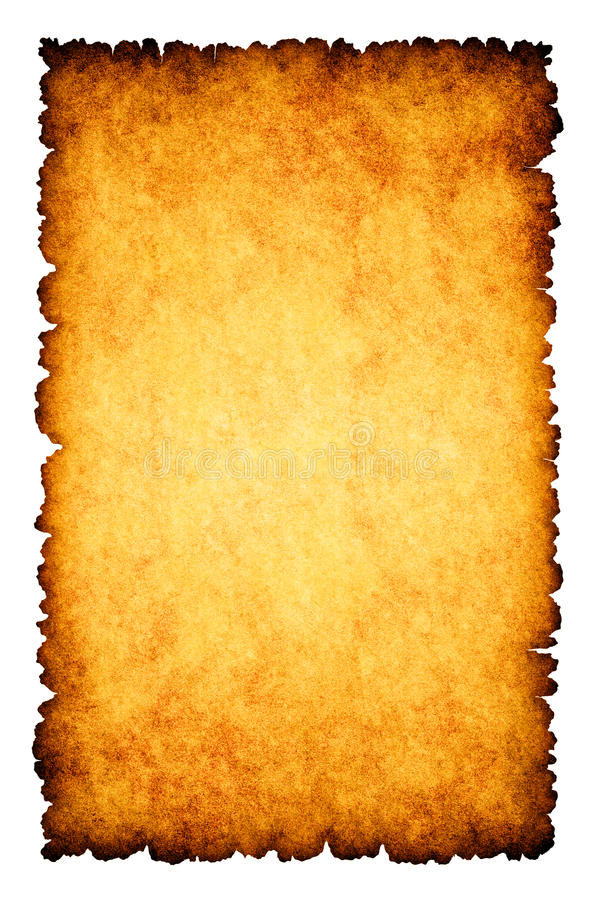 Rough Burnt Parchment Paper Background Stock Illustration ...