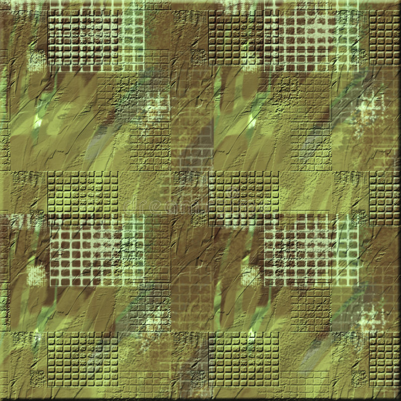 Rough Camo Square Stock Images