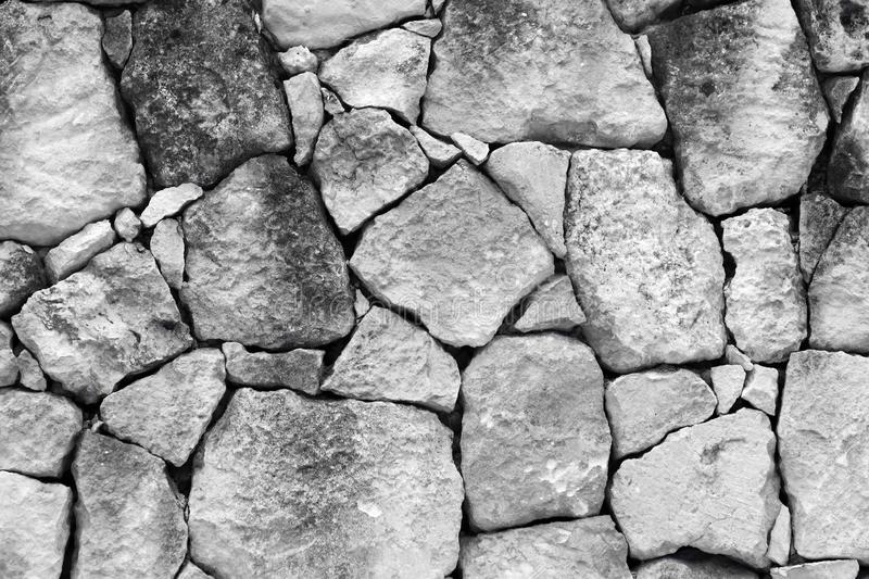 Rough castle wall stonework texture - fantastic abstract photo background stock photography