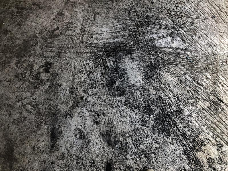 Rough concrete floor. To wait for the tiles royalty free stock photo
