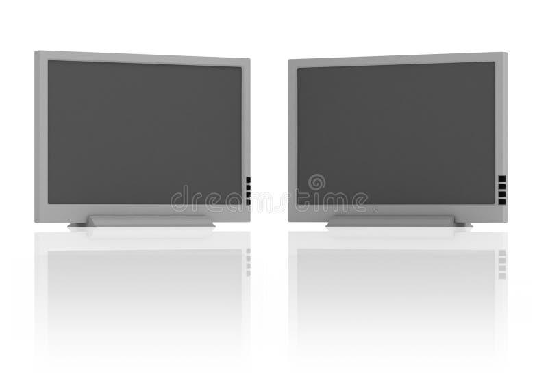 Download Rough Flat TV Royalty Free Stock Image - Image: 4123216