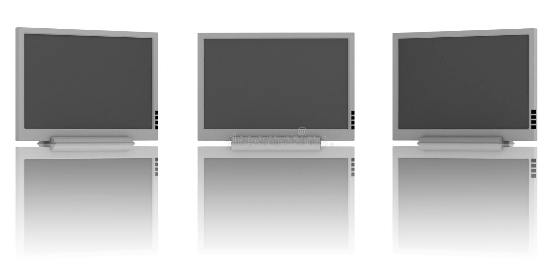 Rough Flat TV Stock Photos