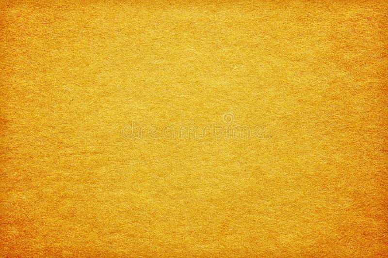 Rough gold paper texture background stock images