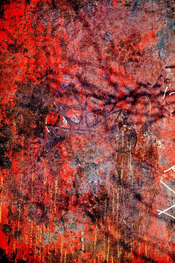Rough graffiti background royalty free stock photography