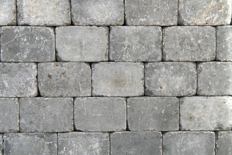 Rough granite block wall royalty free stock image