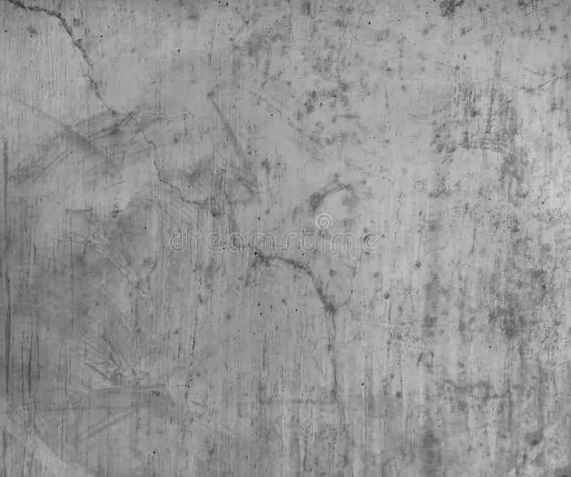 Rough grey concrete cement wall or flooring pattern surface texture. Close-up of exterior material for design decoration royalty free stock photos