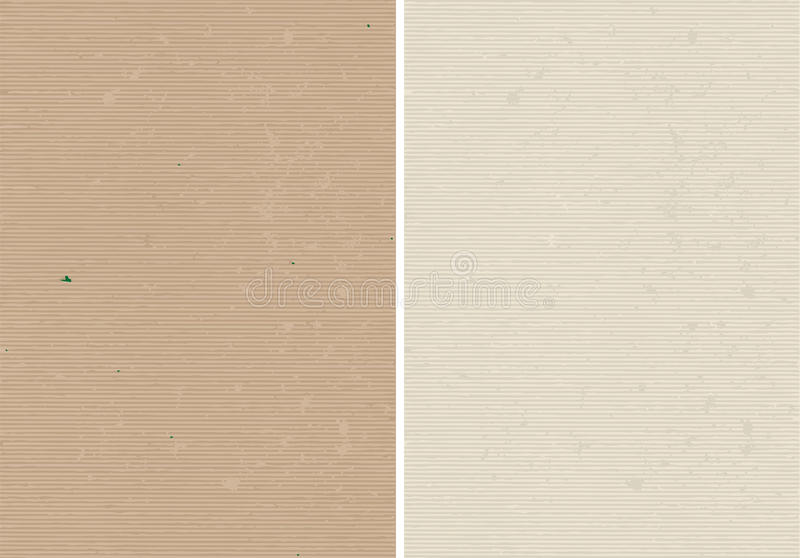 Rough lined and corrugated texture. Rough lined and corrugated vector paper texture vector illustration