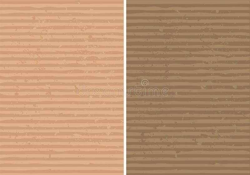 Rough Lined And Corrugated  Texture Stock Image