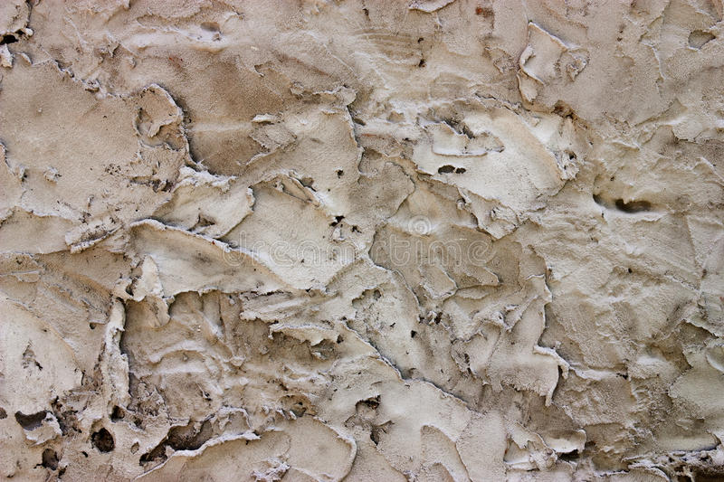 Rough Plaster wall stock photo