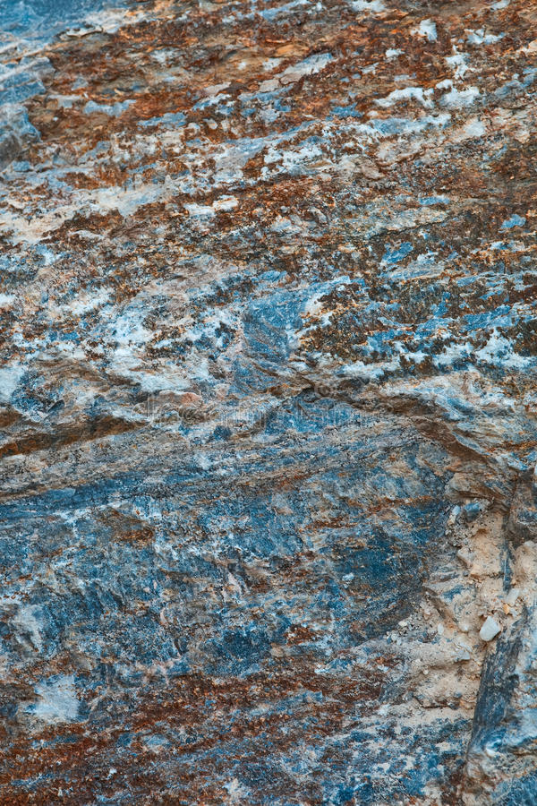 Rough Rock Surface. Royalty Free Stock Image