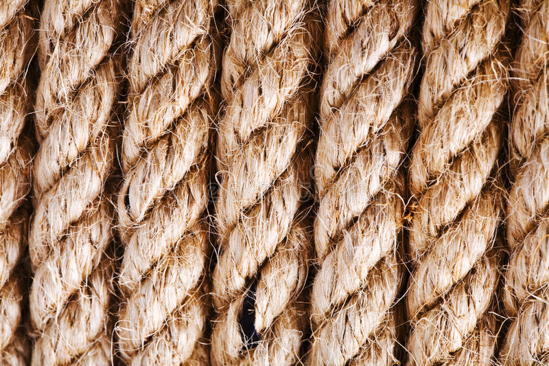 Download Rough ropes stock photo. Image of detailed, thick, wound - 3307500