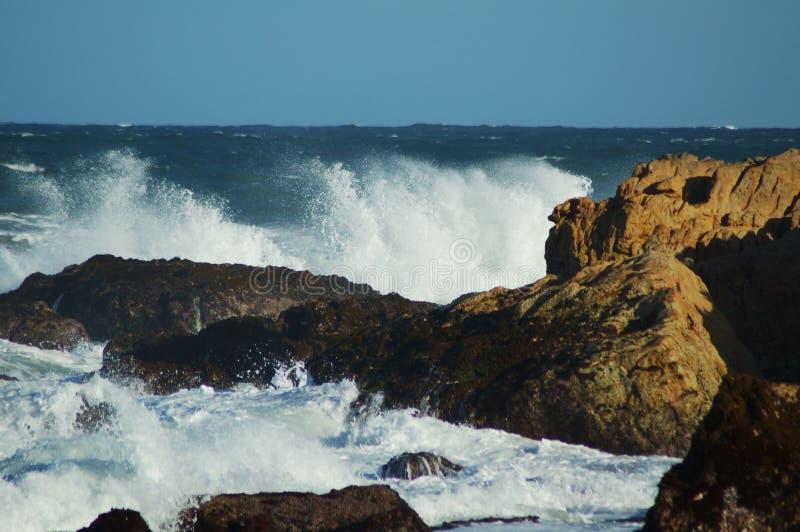 Rough sea royalty free stock photo