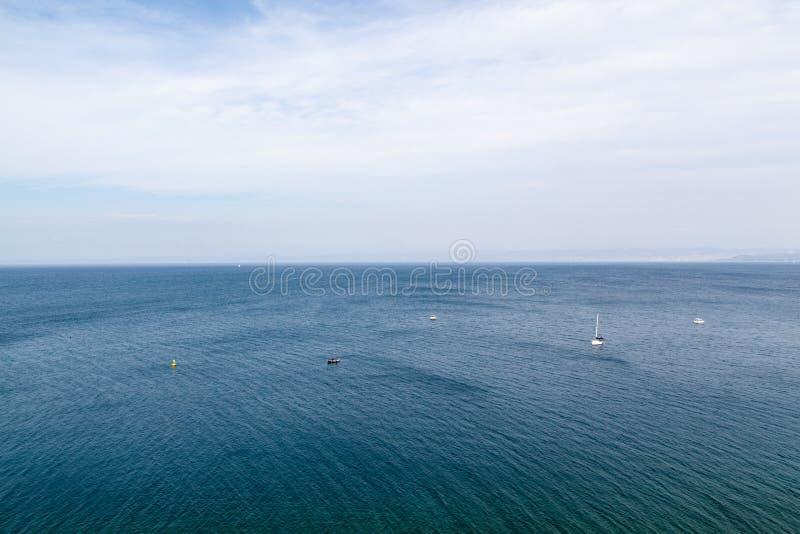 Rough sea stock image