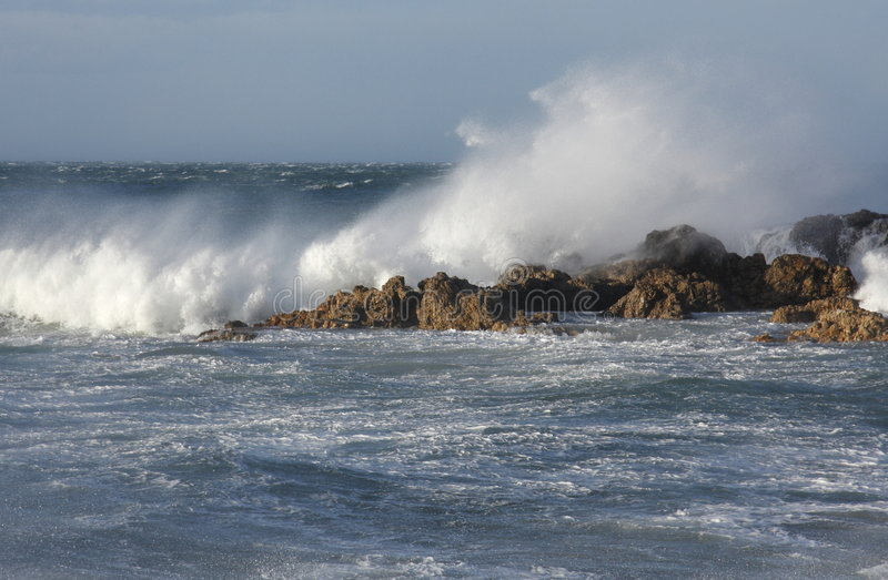 Download Rough Seas Stock Image - Image: 6343961