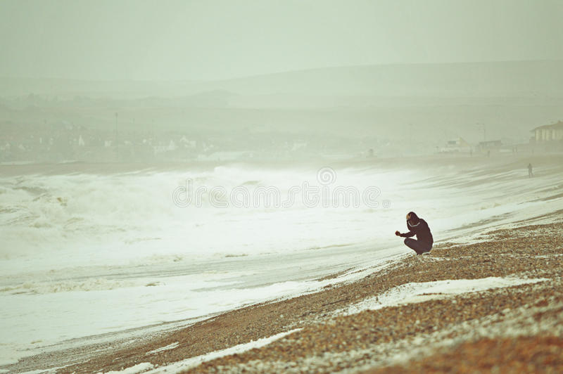 Download Rough Seas At Seaford Stock Images - Image: 34762944