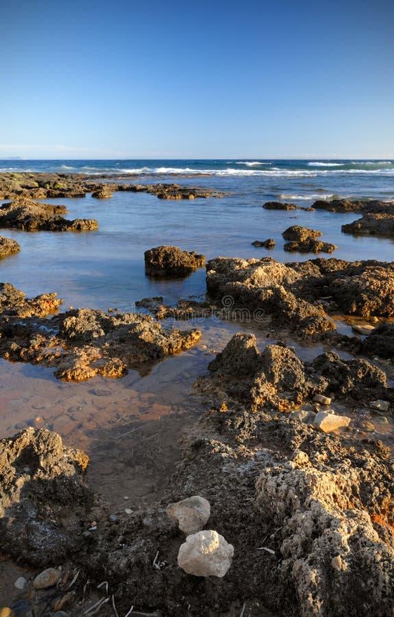 Rough Shoreline Stock Photography