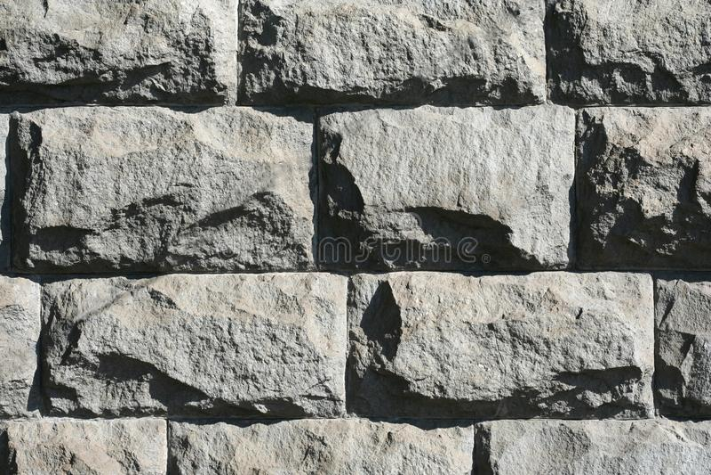Rough stone wall royalty free stock photos