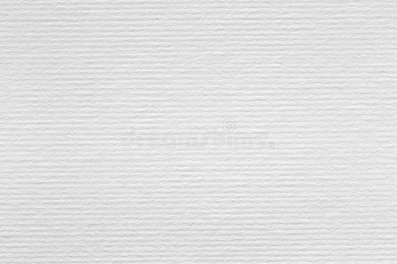 A rough texture background of white watercolour paper. royalty free stock images