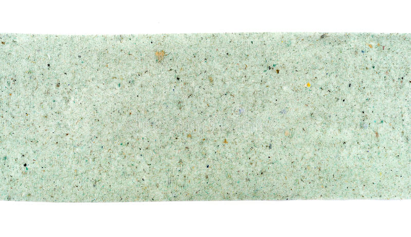 Rough texture of green. Toilet paper close up stock image