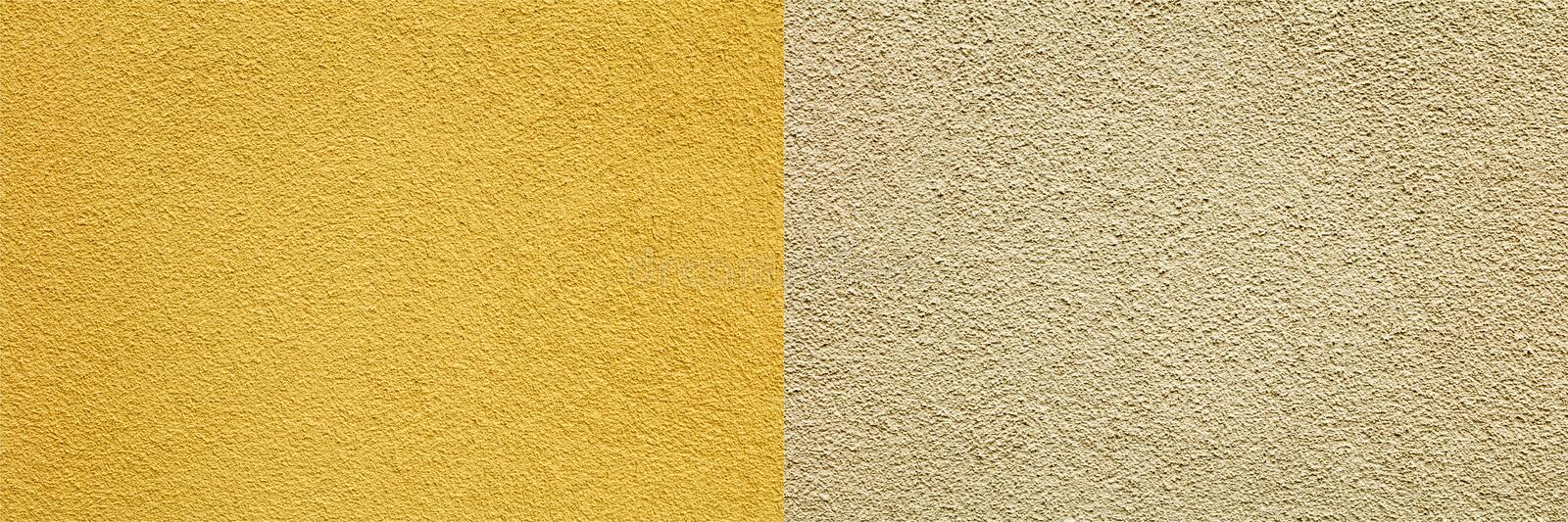 Rough textured mortar background collage. Sandpaper gritty surface rough stucco exterior textures wall blank copy space solid construction wallpaper design stock photos