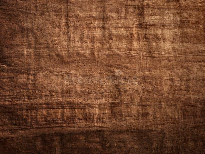 Dark brown wood bark paper with lighting gradient royalty free stock photos