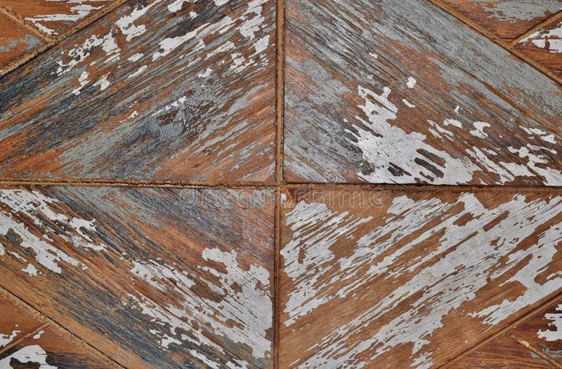 Rustic wooden surface showing directional patterns. stock photos