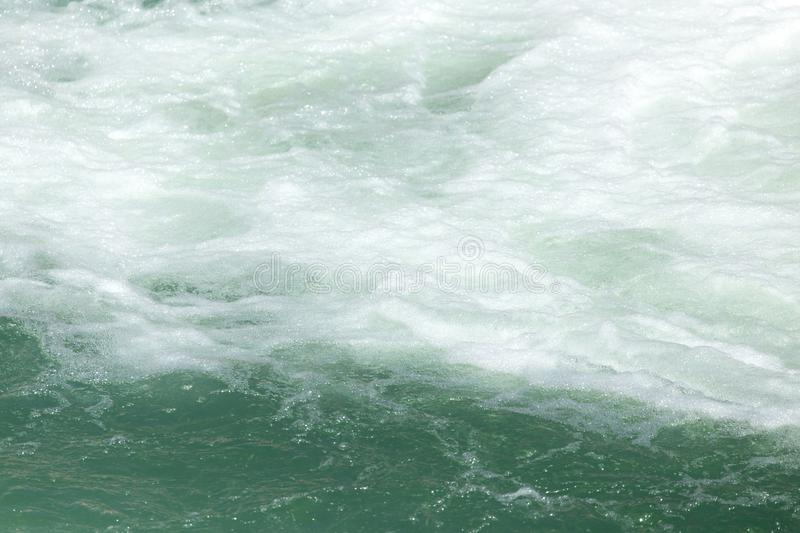 Rough water on the surface royalty free stock photo