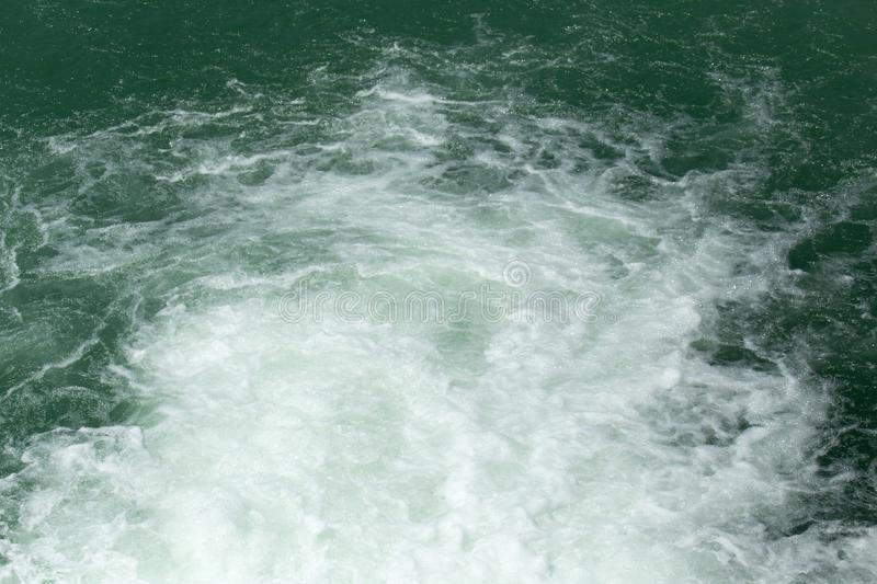 Rough water on the surface royalty free stock photos