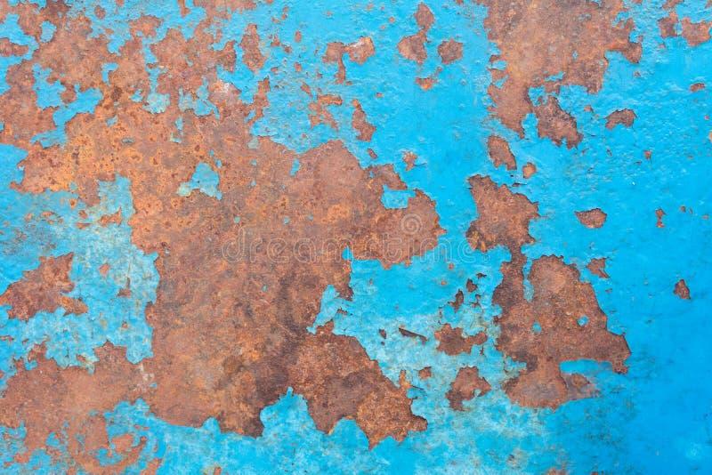 rouille bleue de plaque d'acier photo libre de droits