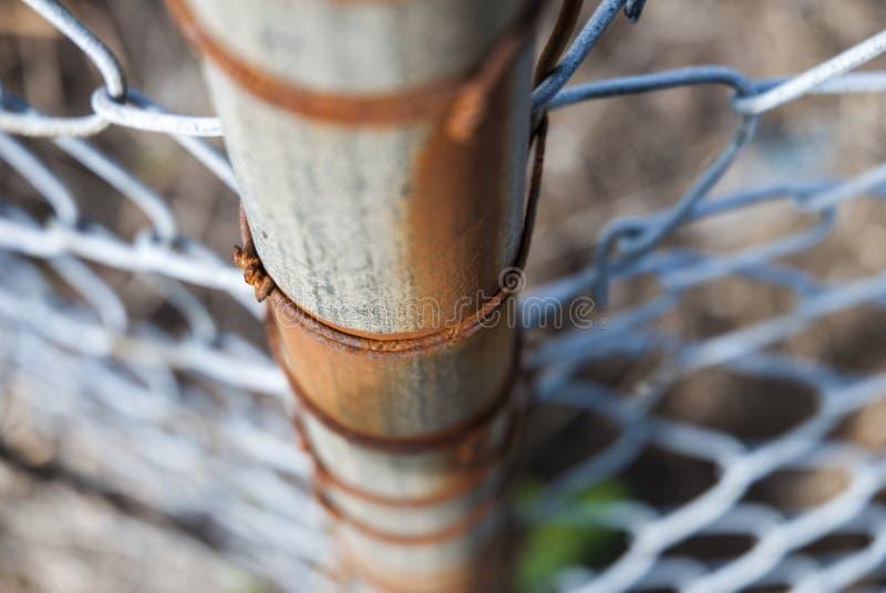 Rouille de barrière de Polonais photographie stock