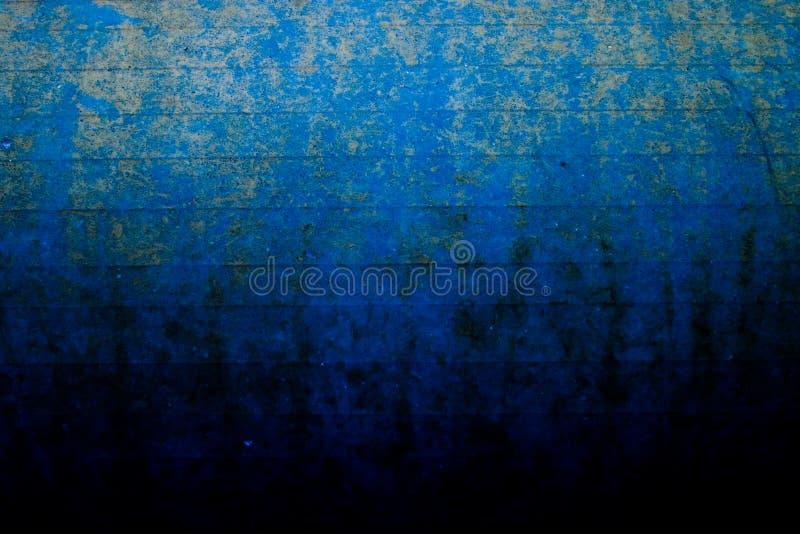 Rouille et bleu de corrosion photo stock