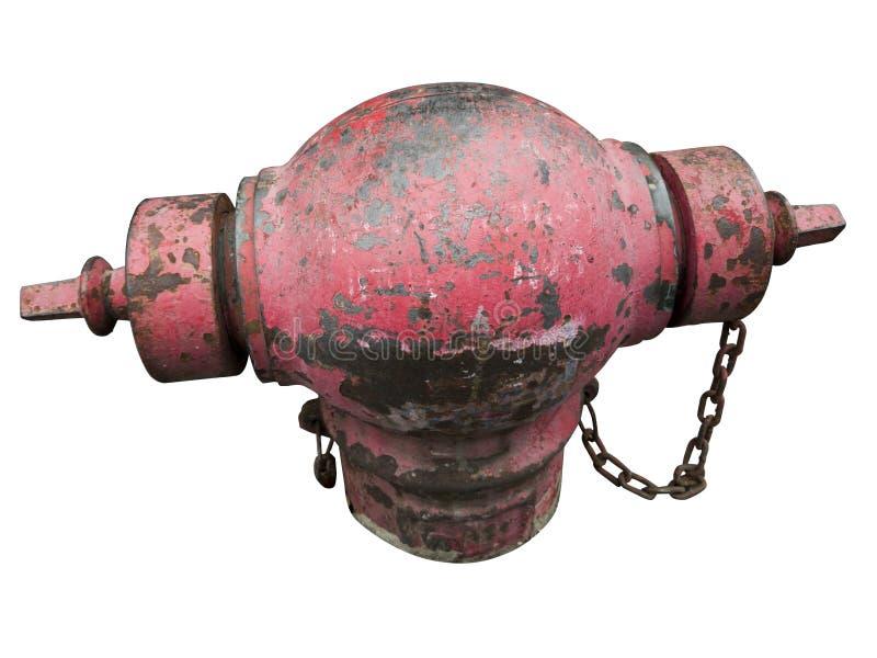 Rouille sur des bouches d'incendie images libres de droits