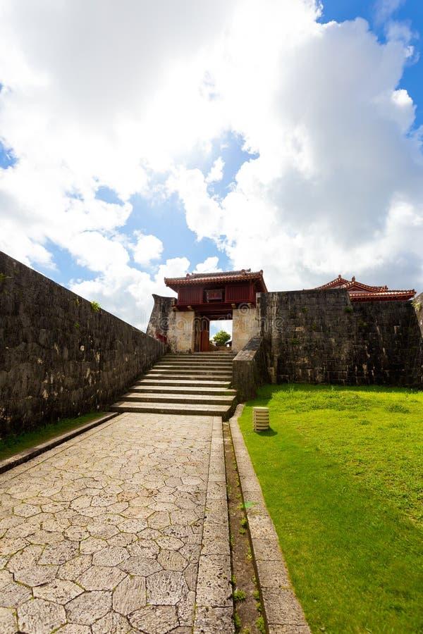 Roukokumon von Shuri-Schloss, Japan stockfotos