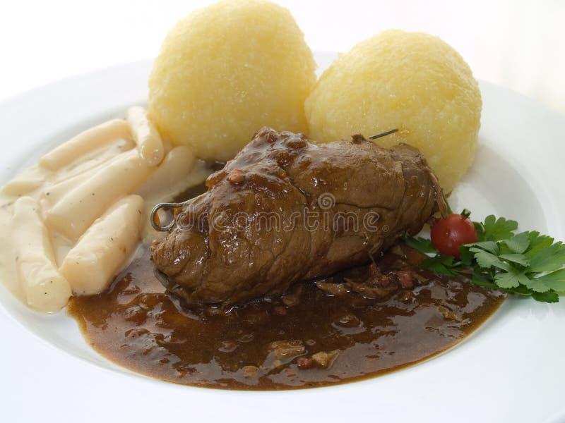 Roulade da carne imagem de stock royalty free