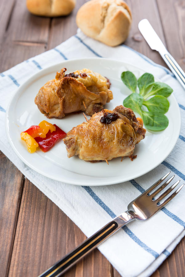 Download Roulade of poultry stock image. Image of meat, roulade - 28622801