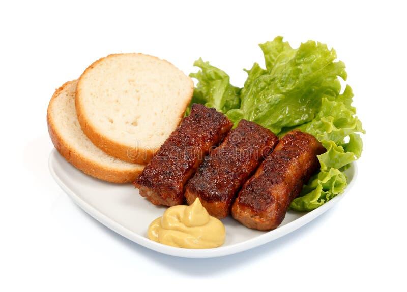 Roulades de viande photo libre de droits