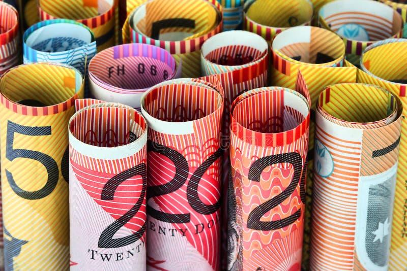 Rouleau d'argent image stock