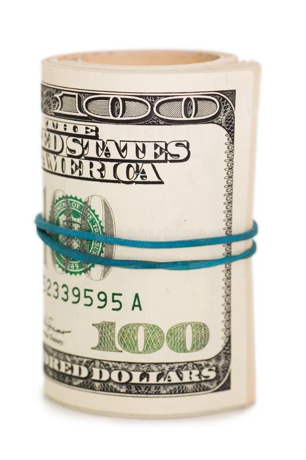 Rouleau d'argent et de proue images libres de droits