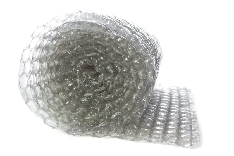 Rouleau d'enveloppe de bulle image stock