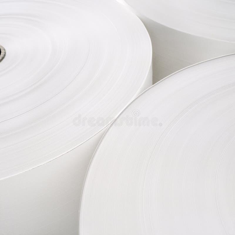 Rouleau de papier photos stock