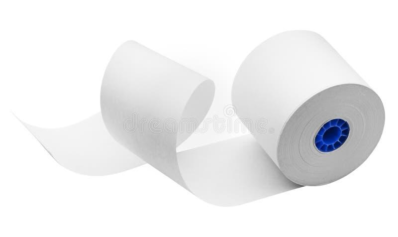 Rouleau De Papier, D Isolement Photos libres de droits