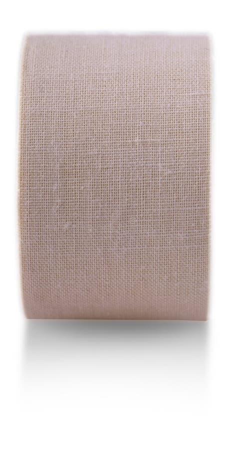Rouleau de plâtre de collage médical photographie stock