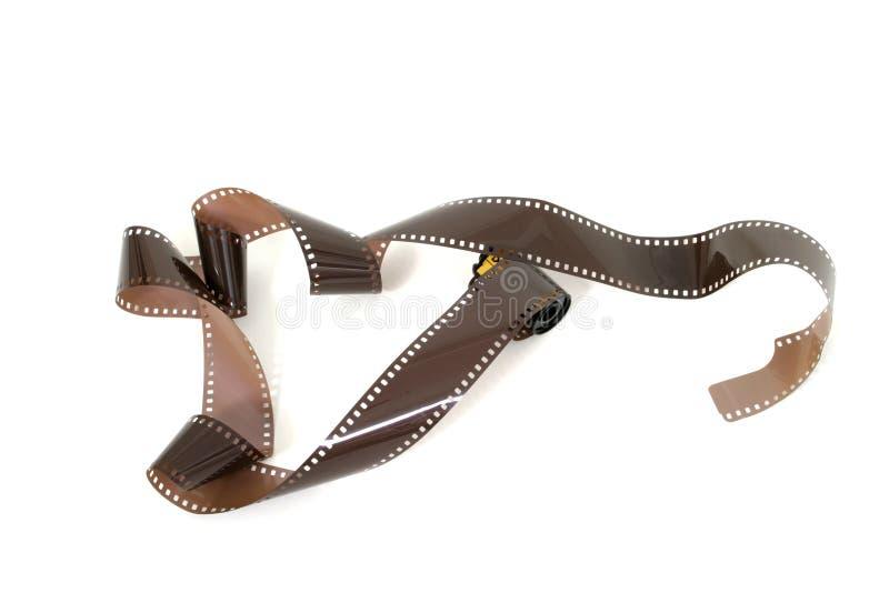 Rouleau exposé du film 2 photos libres de droits