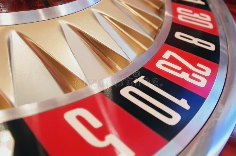 roulett för 01 kasino royaltyfri foto