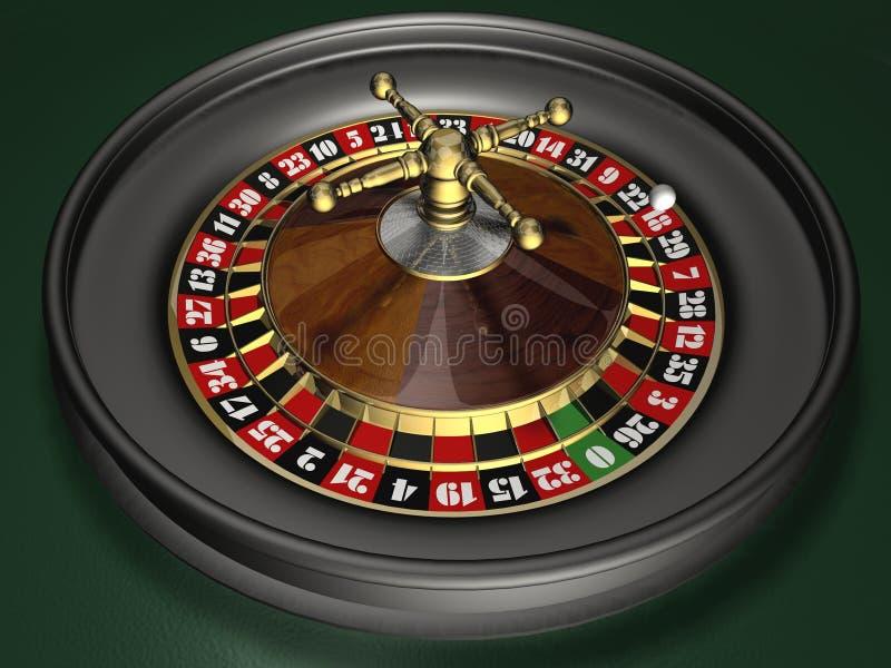 Roulette royalty-vrije illustratie