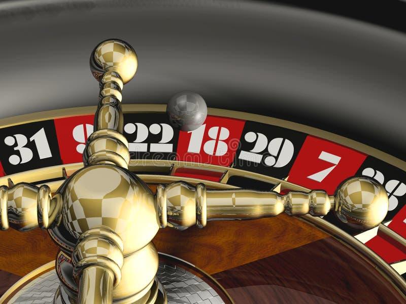 Download Roulette stock illustration. Illustration of gold, render - 1574611