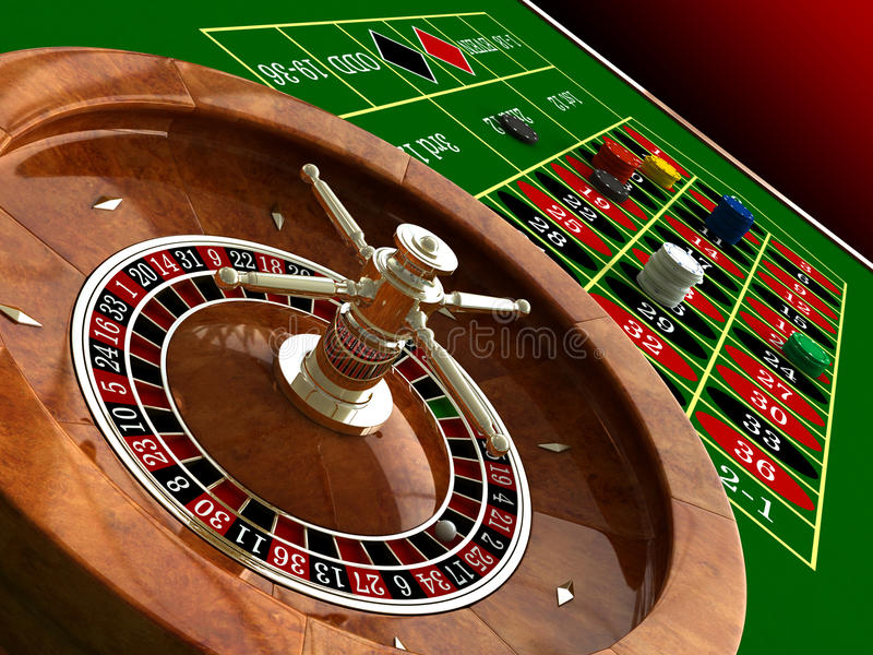 Download Roulette Royalty Free Stock Photography - Image: 20007387