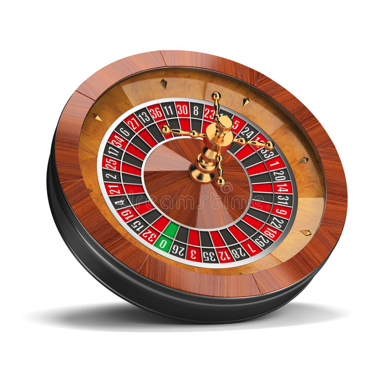 Roulette royalty free illustration